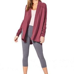 Lululemon Blissful Zen Sweater So Merlot Size 4